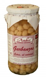 Legumbre Garbanzos vidrio 720 ml.